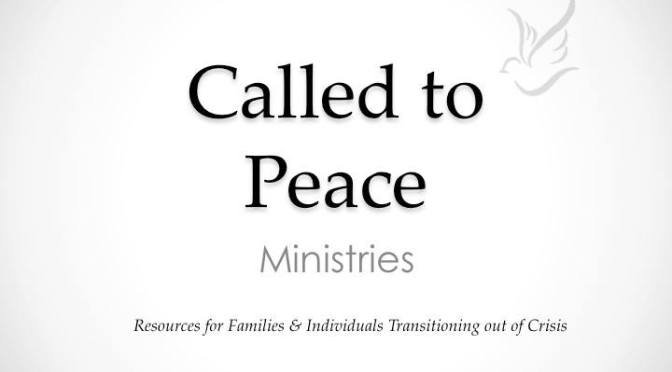 Called to Peace Ministries Radio Interview 9/6/15