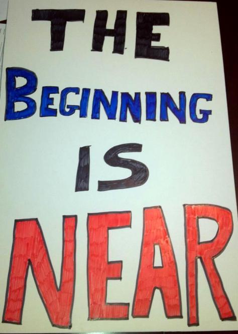 BeginningIsNear